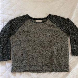 Loft Sweater XL EUC black/tan
